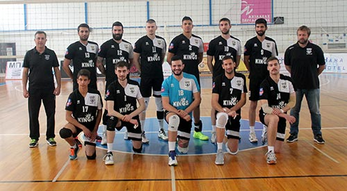 KINGS: Gold Sponsor for Iraklis Chalkidas Volleyball Team